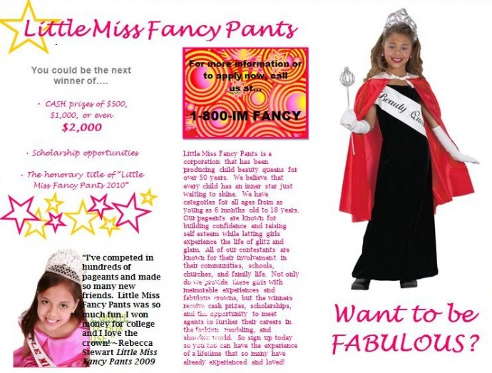 child beauty pageant essay conclusion Beauty pageants argumentative essay what premises does the author to support the conclusion child beauty pageant controversy michaela.